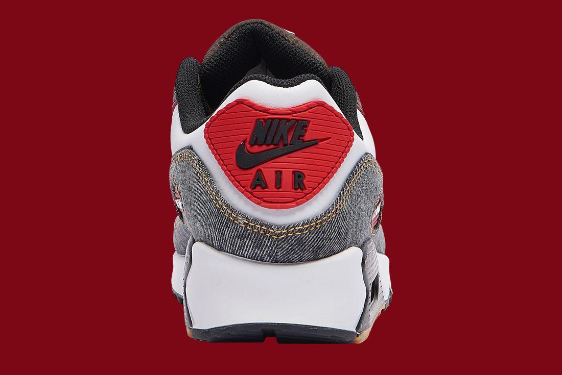 Nike Air Max 90 Denim Camo Heel