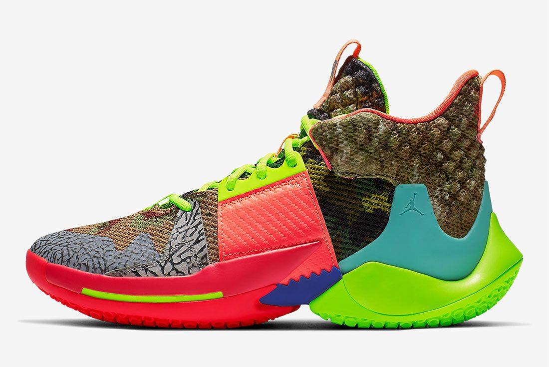 Russell Westbrook Jordan Why Not Zer0 2 Left