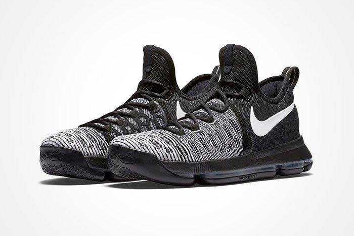 Nike Zom Kd 9 Blackwhite Deature
