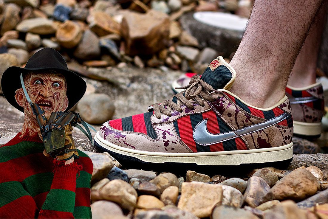 Nike Sb Dunk Low Freddy Krueger 2007 Released 2