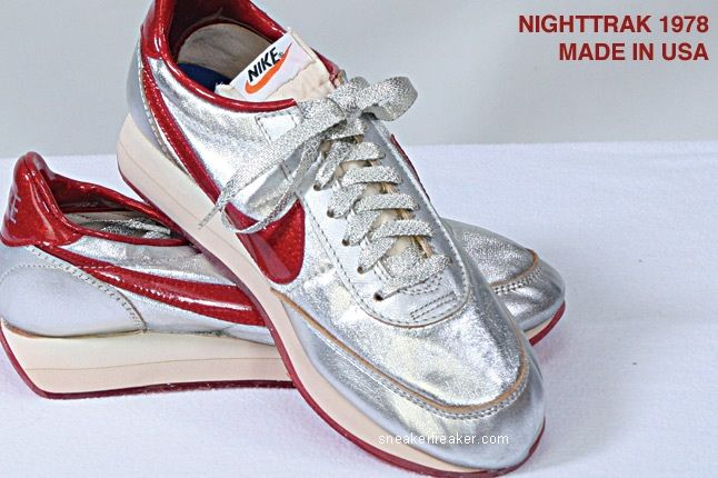 Vintage Collector Lindy Darrell Nike Runners 23