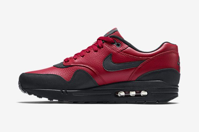 Nike Air Max 1 Leather Gym Red 3