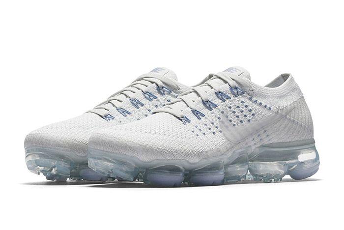 Nike Womens Air Vapormax White Blue 5