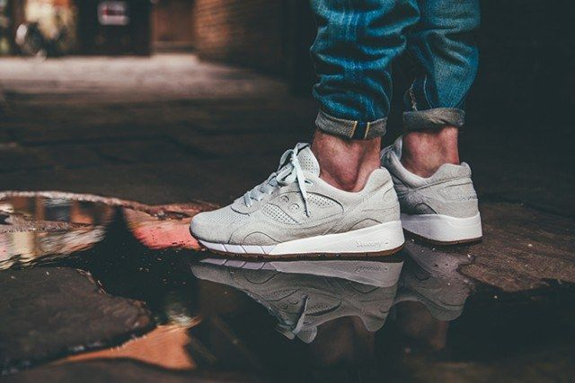 Saucony Irish Coffee Pack On Foot 6 640X4271