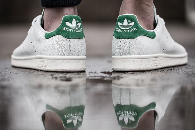 Adidas Stan Smith Cracked Leather Bump 2