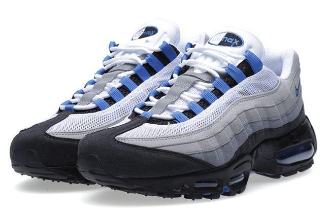 Nike Air Max 95 Grey Blue Angle 1