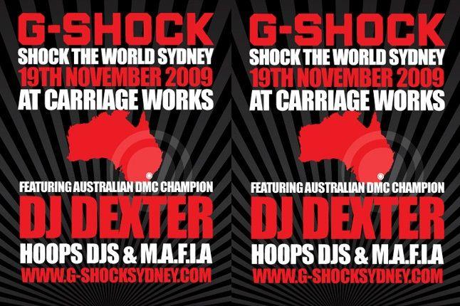 G Shock Banner 1