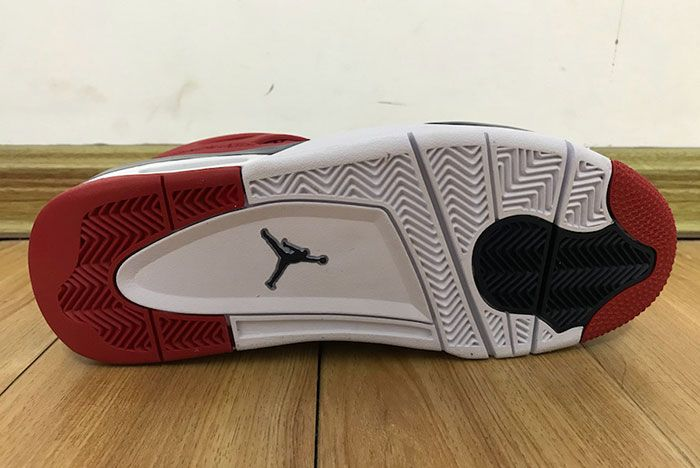 Air Jordan 4 Fiba Gym Red Ci1184 617 2019 Release Date 7 Sole