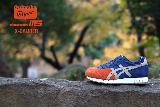 Mita Sneakers Onitsuka Tiger X Caliber Tequila Sunrise 7