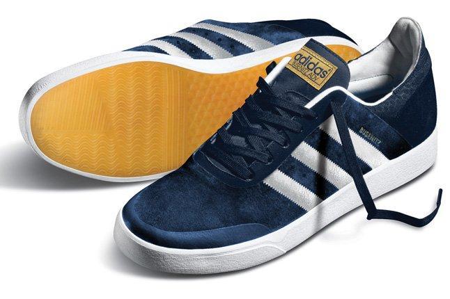 Adidas Busenitz Adv Navy Sole Pair 1