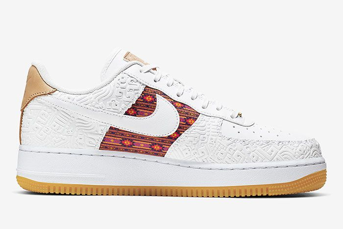 Nike Air Force 1 Aztec Ck6601 100 3 Side
