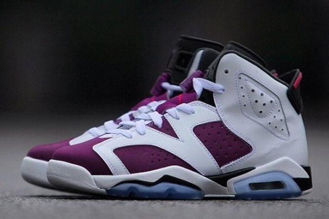 Air Jordan 6 Retro Gs Bright Grape 1
