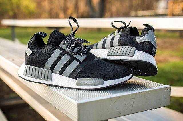 Adidas Nmd Runner Pk Black Grey 6