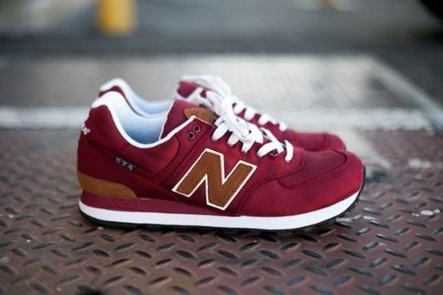 New Balance 574 Backpack Edition Red Profile 1