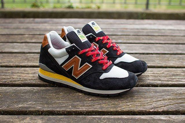 New Balance 996 Black Brown 3