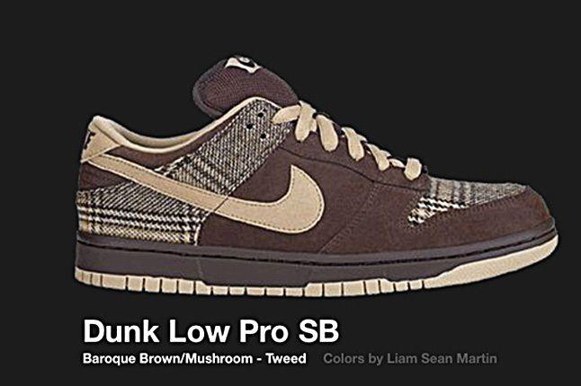 Nike Dunk Low Sb Tweed 2004 2
