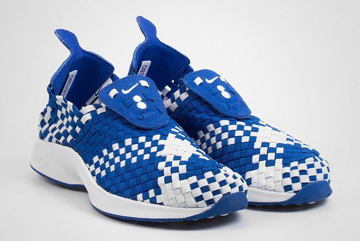 Colette Nike Air Woven The Beach White Blue Thumb