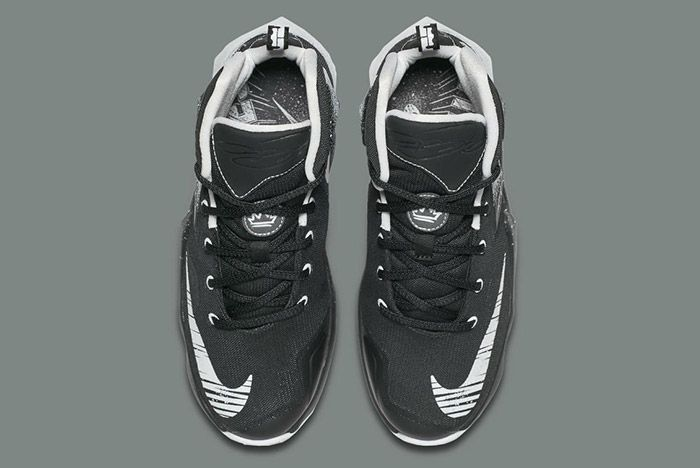 Nike Lebron Comic Book Hero Gs Black White 3