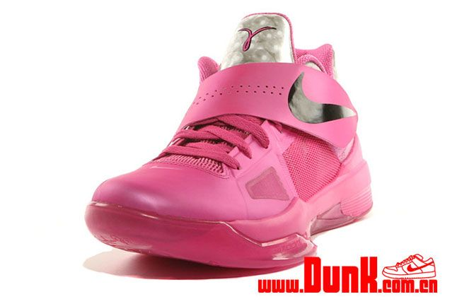 Nike Kd4 Aunt Pearl Think Pink 03 1