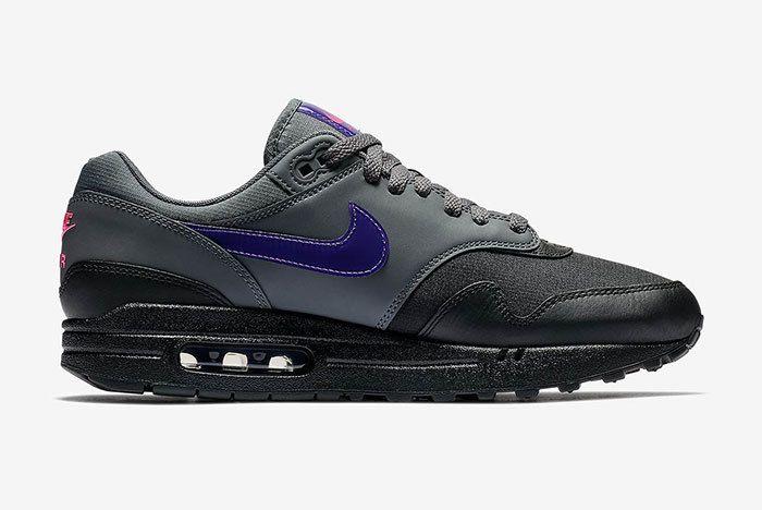 Nike Air Max 1 Black Purple 3