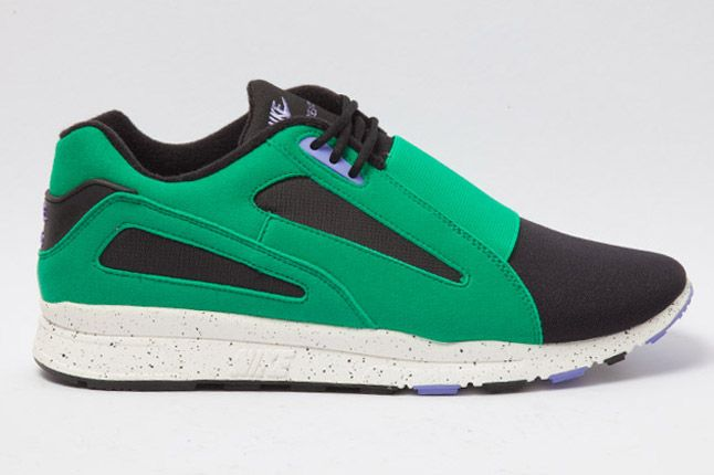 Nike Air Current Green Side 1