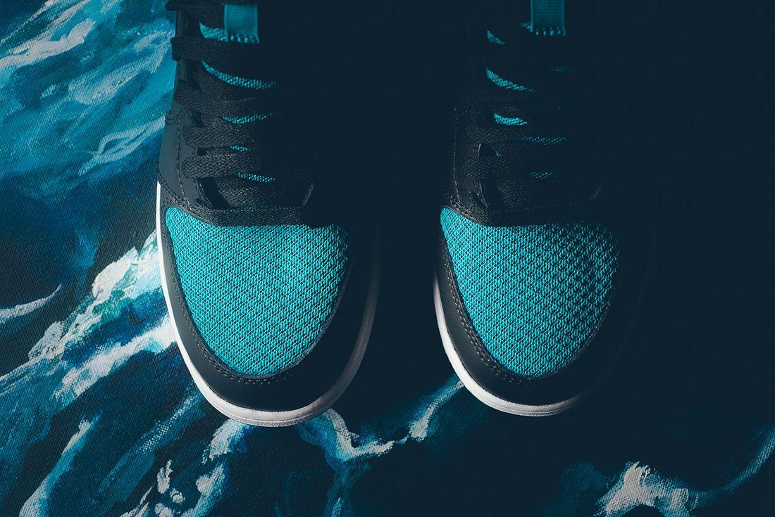 Air Jordan 1 High Gg Rio Teal4