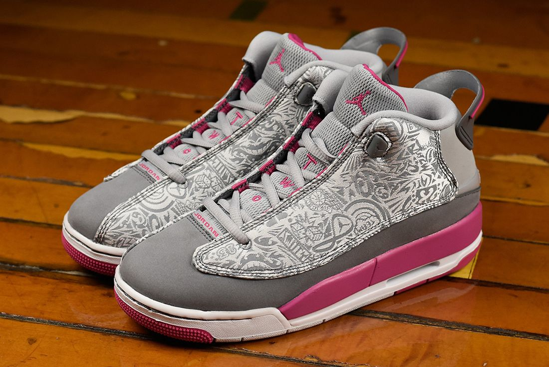 Air Jordan Dub Zero Gg Vivid Pink2