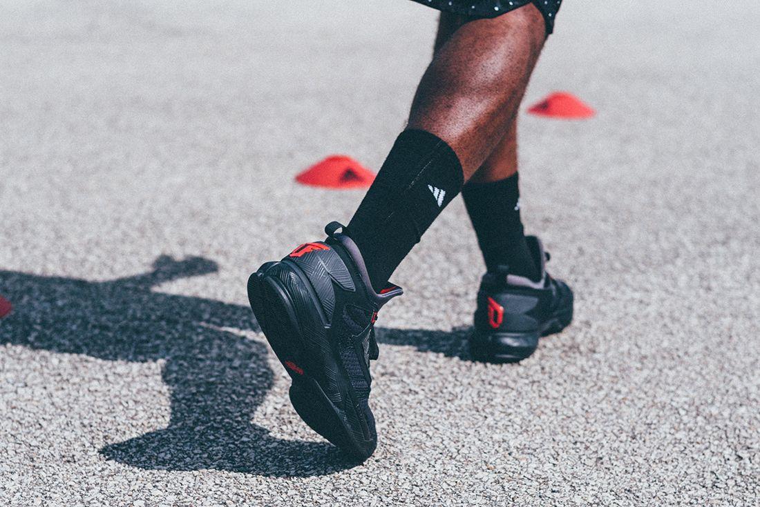 Adidas D Lillard 2 Shark Black
