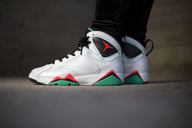 Air Jordan 7 Wmns Verde 4