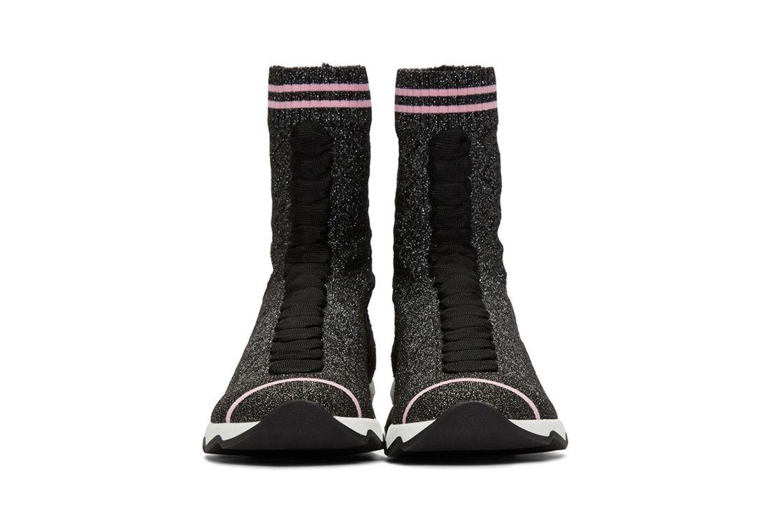 Fendi Pink Sock Sneaker Freaker 9