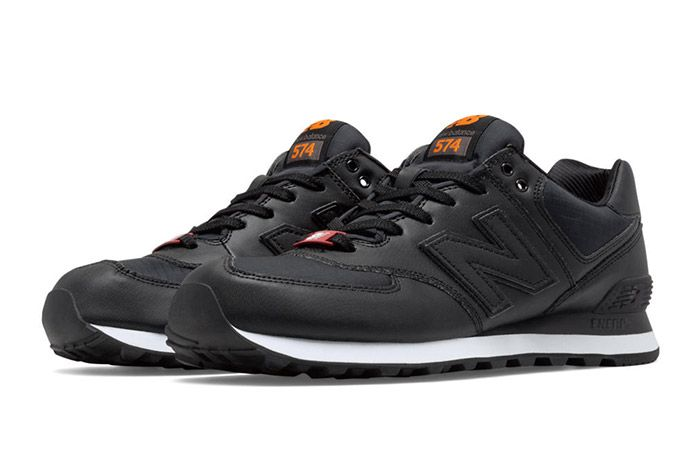 New Balance 574 Flight Jacket Black 1