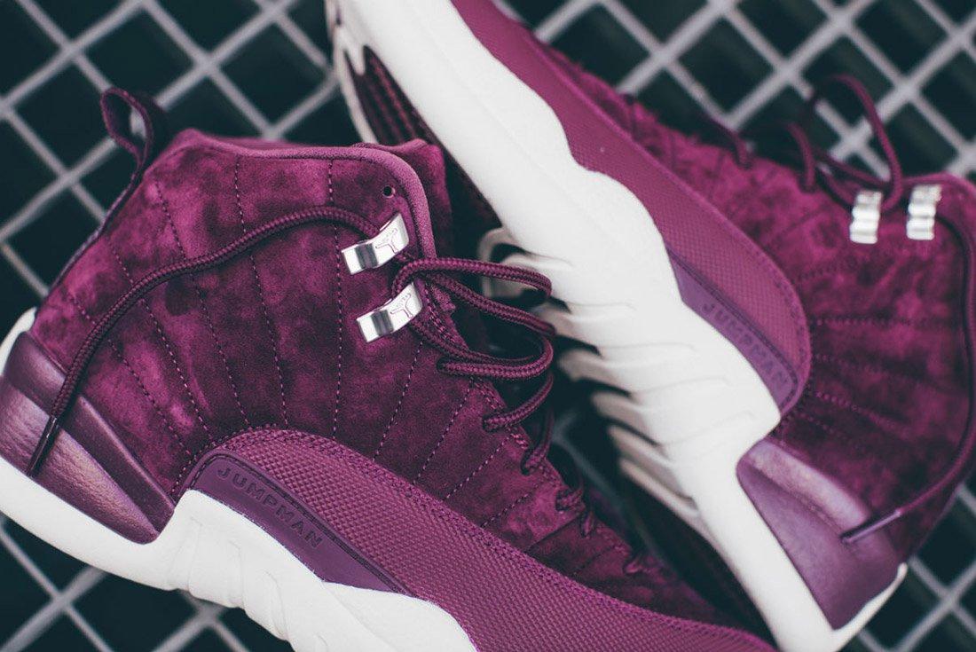 Air Jordan 12 Bordeaux 3