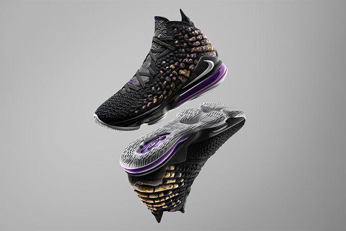 Nike Lebron 17 Lakers Release Date Hero