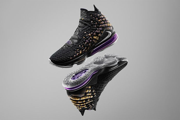 Nike Lebron 17 Lakers Release Date Hero