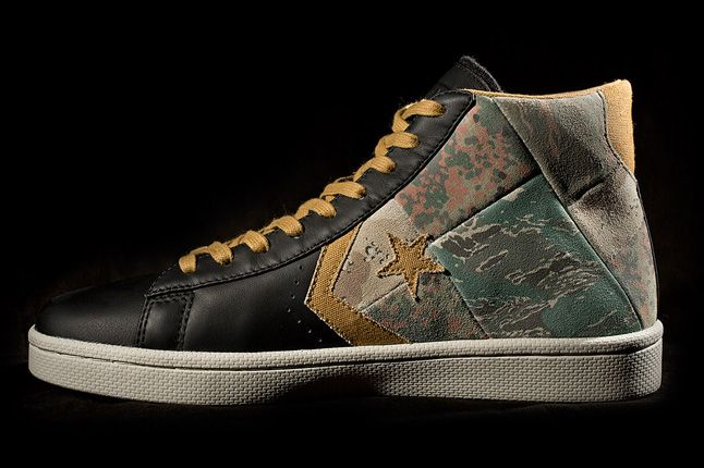 Stussy Chapters Converse First String Pro Leather Side Profile 1
