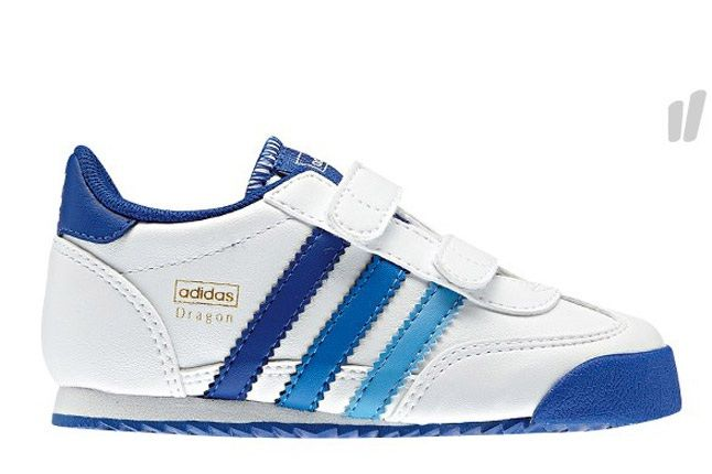 Adidas Kids Orig Dragon Blue White 1
