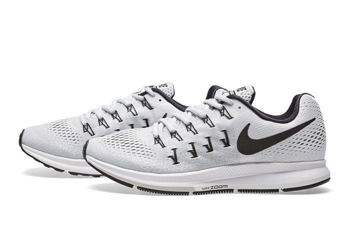 Nike Air Zoom Pegasus 33 White Black 6