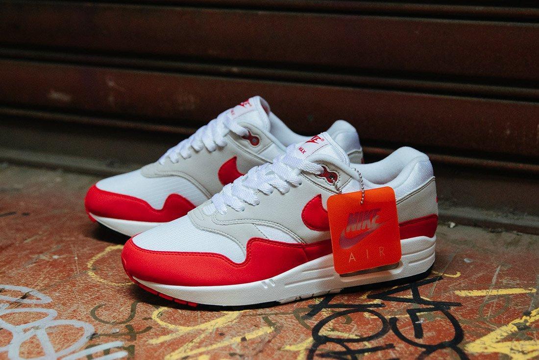 Nike Air Max 1 Anniversary Og Red White 10