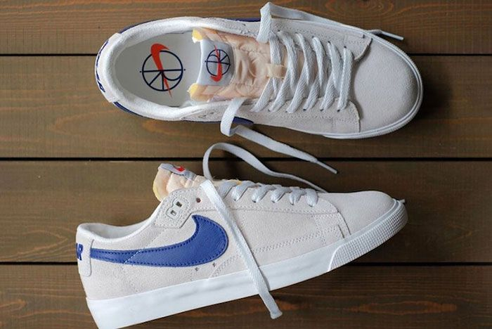 Polar Skate Co Nike Sb Blazer Low Release Date Pair Shot