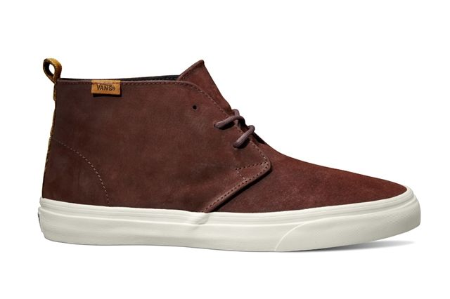 Vans California Collection Chukka Decon Ca Suede Bitter Chocolate Holiday 2013