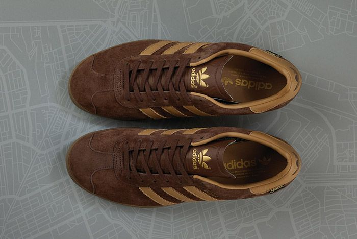 Size Adidas Gazelle Gtx Amsterdam Brown 2
