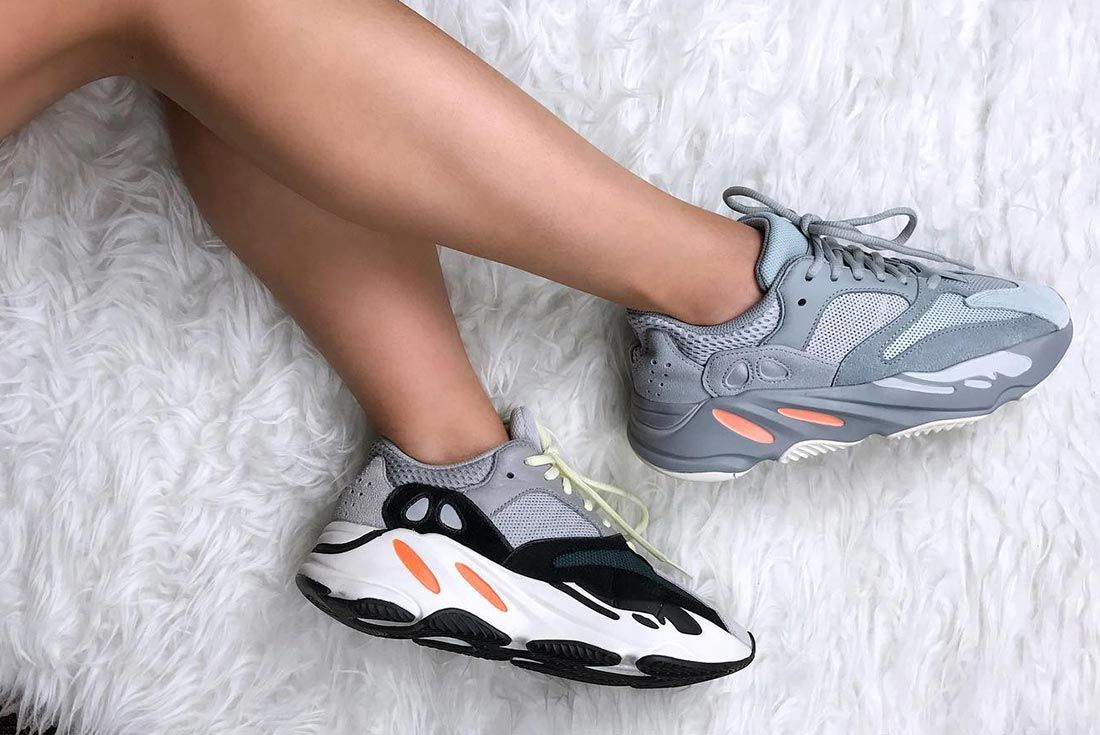 Adidas Yeezy Boost 700 On Foot Lateral Side Shot