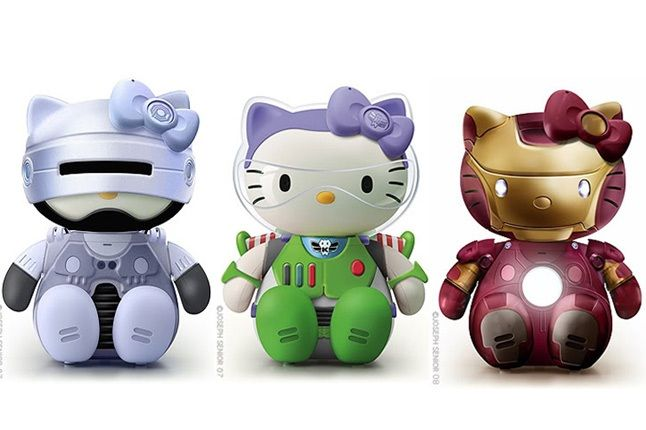 Hello Kitty Star Wars Robo Cop 4 1