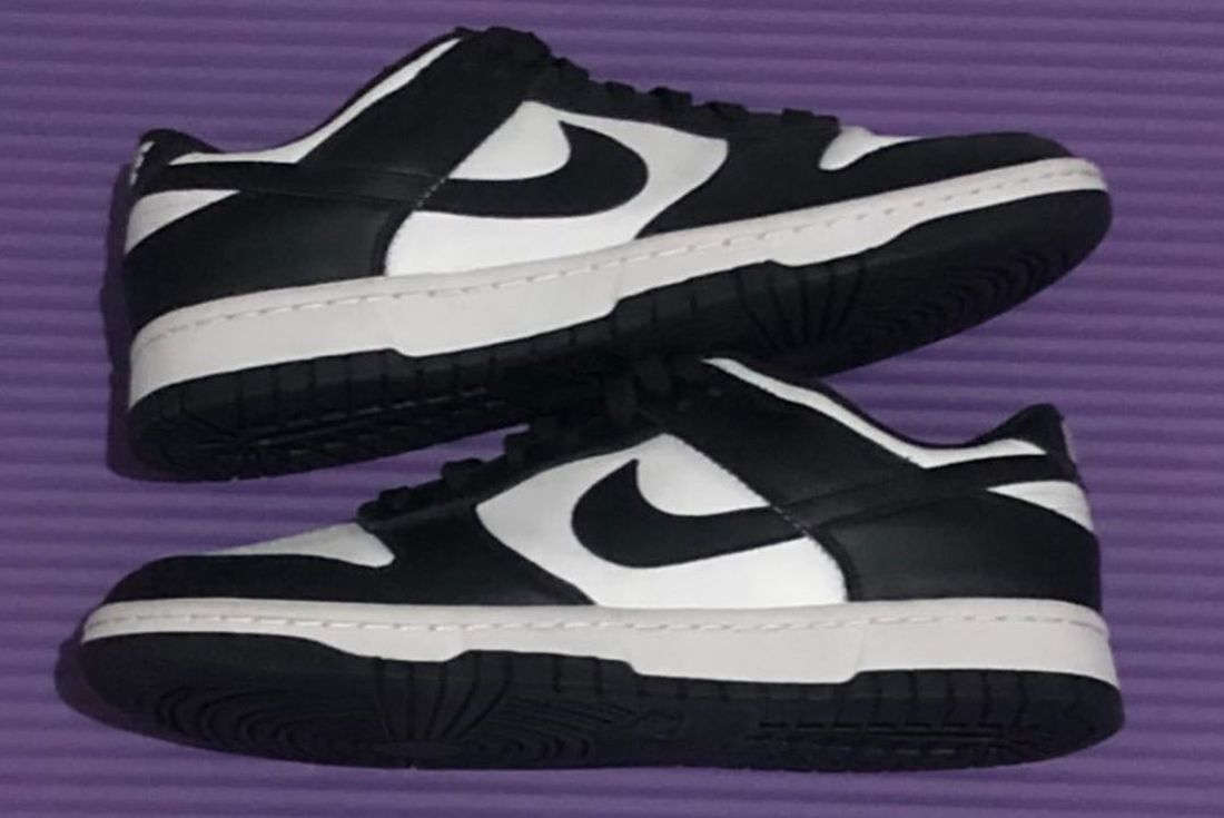 Nike Dunk Low Black White
