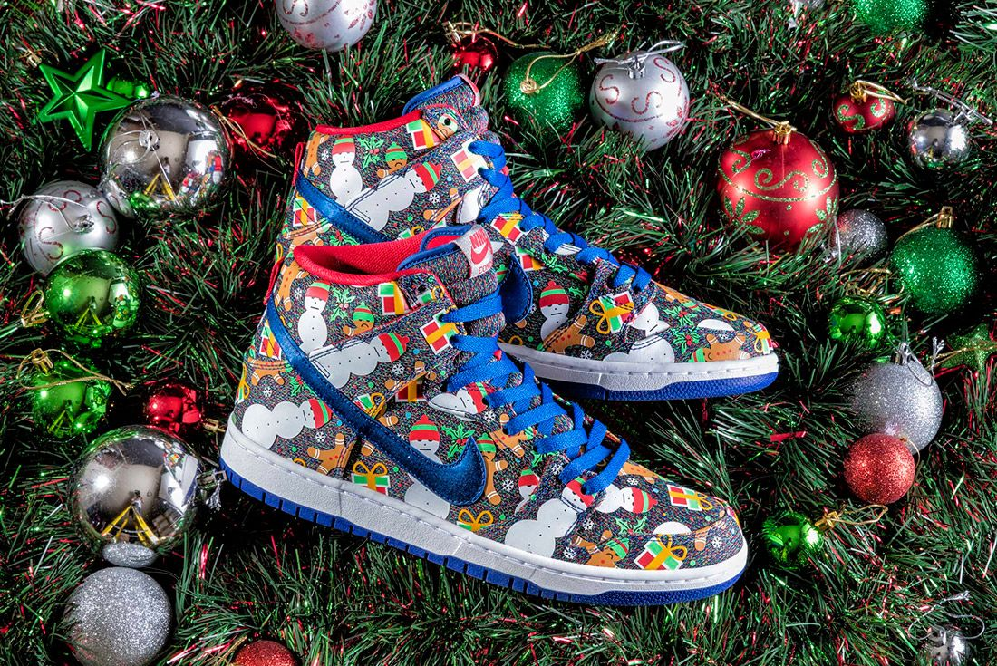 Concepts X Nike Sb Ugly Sweater Dunk 2017 Sneaker Freaker 7