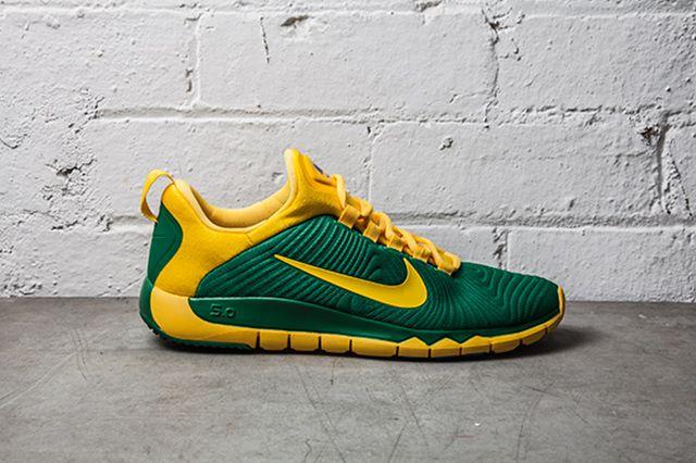 Nike Free Trainer Nrg Pine Green Varsity Maize 1