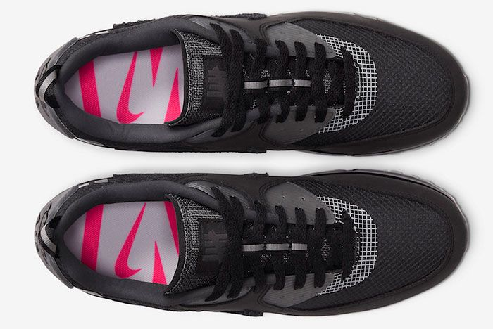 Undefeated Nike Air Max 90 Black Cq2289 002 Release Date 2 Official