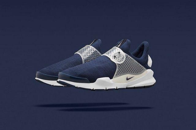 Fragment Nike Sock Dart Navy 2