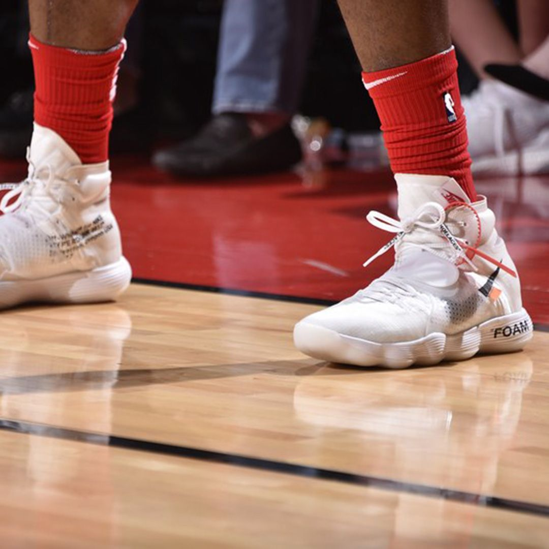Pj Tucker Off White Hyperdunks Sneaker Freaker