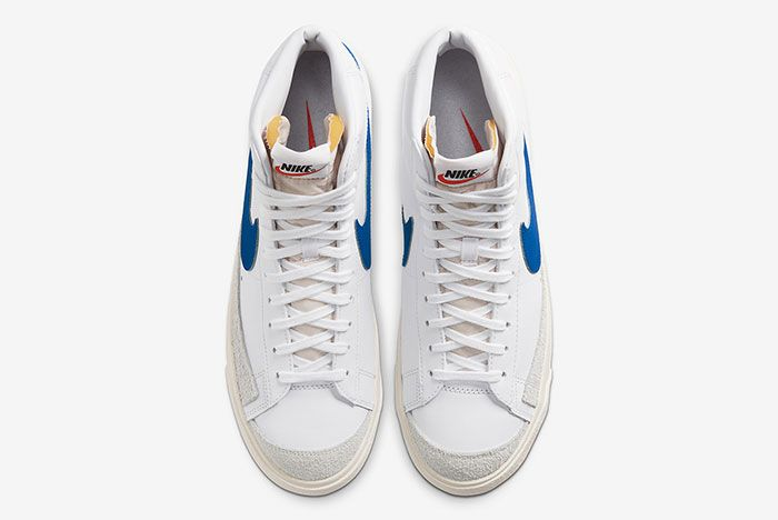 Nike Blazer Mid 77 Vintage Racer Blue Bq6806 103 Top